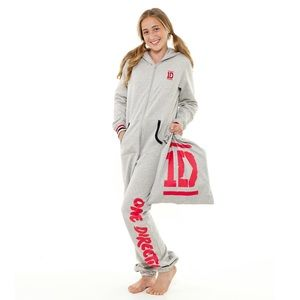 Official One Direction Grey Onesie